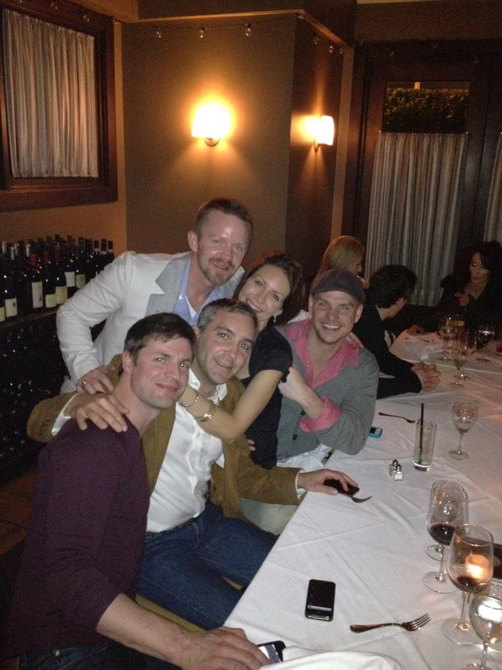 Gale Harold Girlfriend Danielle Another QaF Gang Pic w...